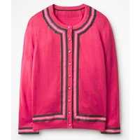 Abigale Cardigan Pink Women Boden, Pink