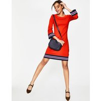 Trudy Knitted Dress Red Women Boden, Red