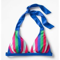 Positano Halter Bikini Top Multi Women Boden, Multicouloured