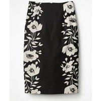 Richmond Pencil Skirt Black Women Boden, black