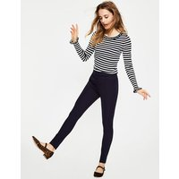 Boden Hampshire Skinny Trousers Navy Women Boden, Navy