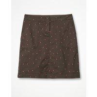 Chino Skirt Khaki Women Boden, Khaki