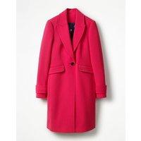 Aileen Coat Pink Women Boden, Pink