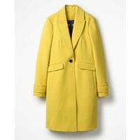 Boden Aileen Coat Yellow Women Boden, Yellow