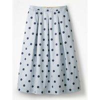 Lola Skirt Blue Women Boden, Blue
