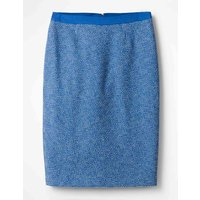 Textured Modern Pencil Skirt Blue Women Boden, Blue