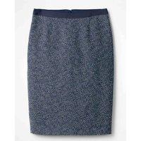 Textured Modern Pencil Skirt Navy Women Boden, Navy