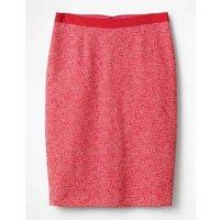 Textured Modern Pencil Skirt Pink Women Boden, Pink