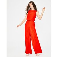 Clarissa Jumpsuit Red Women Boden, Red