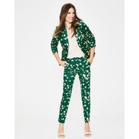 Mallory 7/8 Trousers Green Women Boden, Green