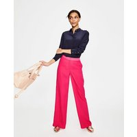 Marlin Wide Leg Trousers Pink Women Boden, Pink
