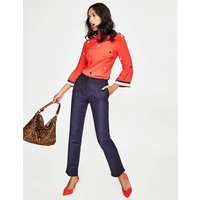 Richmond Trousers Navy Women Boden, Navy
