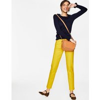 Boden Richmond 7/8 Trousers Yellow Women Boden, Yellow