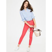 Cropped Soho Skinny Jeans Pink Women Boden, Coral
