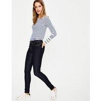 Mayfair Modern Skinny Jeans Navy Women Boden, Navy
