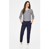 Boden Richmond Capri Trousers Navy Women Boden, Navy
