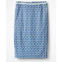 Modern Pencil Skirt Blue Women Boden, Blue