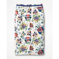 Modern Pencil Skirt Ivory Women Boden, Ivory