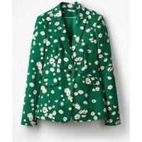 Mallory Blazer Green Women Boden, Green