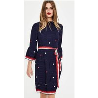 Armelle Dress Navy Women Boden, Navy