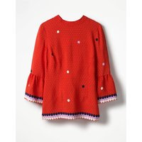 Armelle Top Red Women Boden, Red