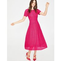 Julieta Lace Dress Pink Women Boden, Pink