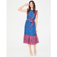 Elise Dress Blue Women Boden, Blue
