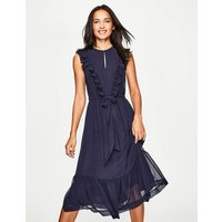 Elise Dress Navy Women Boden, Navy