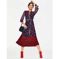 Sybil Shirt Dress Navy Women Boden, Navy