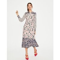 Sybil Shirt Dress Pink Women Boden, Pink