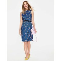 Martha Dress Blue Women Boden, Blue