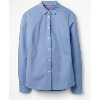 The Classic Shirt Blue Women Boden, Blue