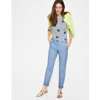 Boden Rachel Chino Trousers Blue Women Boden, Blue