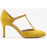 Whitney Mid Heels Yellow Women Boden, Yellow