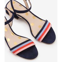 Zoe Heeled Sandals Navy Women Boden, Navy