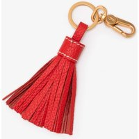 Boden Leather Tassel Keyring Red Women Boden, Red