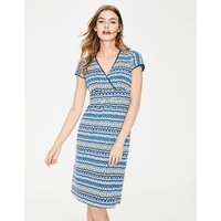 Casual Jersey Dress Blue Women Boden, Blue