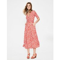 Kassidy Jersey Dress Red Women Boden, Red