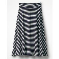 Jersey Midi Skirt Navy Women Boden, Navy