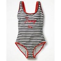 Jump In Swimsuit Navy Women Boden, Navy