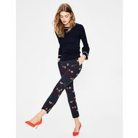 Hampshire 7/8 Trousers Navy Women Boden, Navy