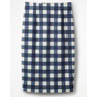 Richmond Pencil Skirt Navy Women Boden, navy