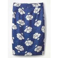 Martha Skirt Blue Women Boden, Blue