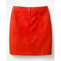 Chino Skirt Red Women Boden, Red