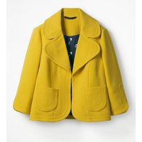 Boden Sylvia Jacket Yellow Women Boden, Yellow