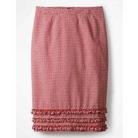 Ava Pencil Skirt Pink Women Boden, Pink