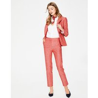 Boden Mina 7/8 Trousers Red Women Boden, Red