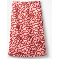 Modern A-line Skirt Red Women Boden, Pink
