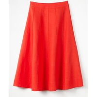 Laurie Skirt Orange Women Boden, Orange