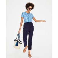 Boden Lottie Trousers Navy Women Boden, Navy